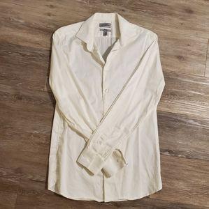 Le Chateau Ivory Dress Shirt